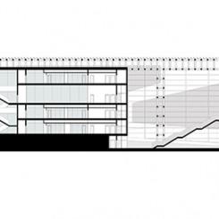 Nuovo complesso polifunzionale sulle calamità naturali (Istanbul), sezione CC