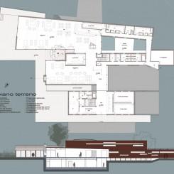 Nuova Clubhouse (Massarosa), tavola di progetto