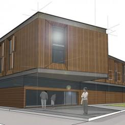 Progetto di riqualificazione urbana (Chieri), rendering