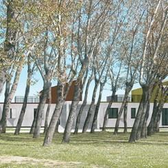 Progetto per residenze sociali (Vigonza), fotoinserimento