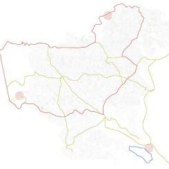 Concorso per un museo all'aperto sul Carso Goriziano (Monte San Michele), ambiti territoriali