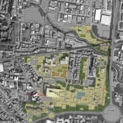 Riqualificazione urbana (Pistoia), ortofoto