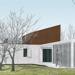 Progetto per residenze sociali (Vigonza), rendering