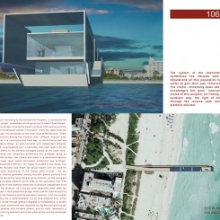 Pier Museum in South Beach (Miami), tavola di progetto