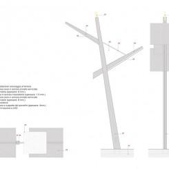 Concorso per un museo all'aperto sul Carso Goriziano (Monte San Michele), dettaglio