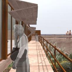 Nuova Clubhouse (Massarosa), rendering