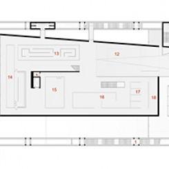 Nuovo complesso polifunzionale sulle calamità naturali (Istanbul), pianta quota ± 12,00 m