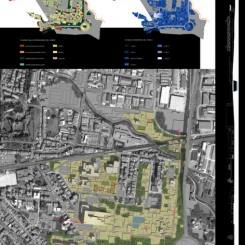 Riqualificazione urbana (Pistoia), tavola di progetto
