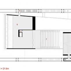 Nuovo complesso polifunzionale sulle calamità naturali (Istanbul), pianta quota ± 22,00 m