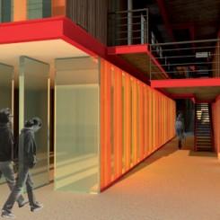 Progetto di riqualificazione urbana (Trondheim), rendering
